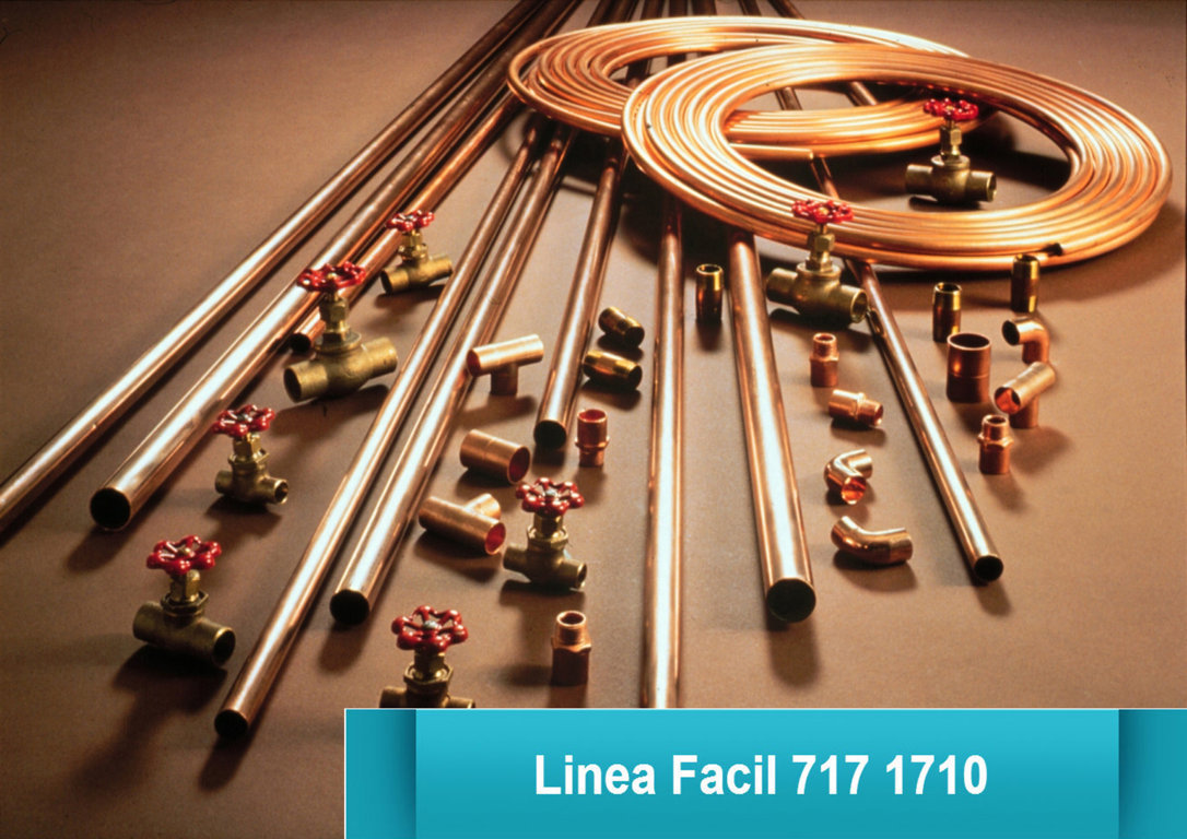 Plomeria en bogota linea facil 717 1710 reparaci n de - Tuberias de cobre ...